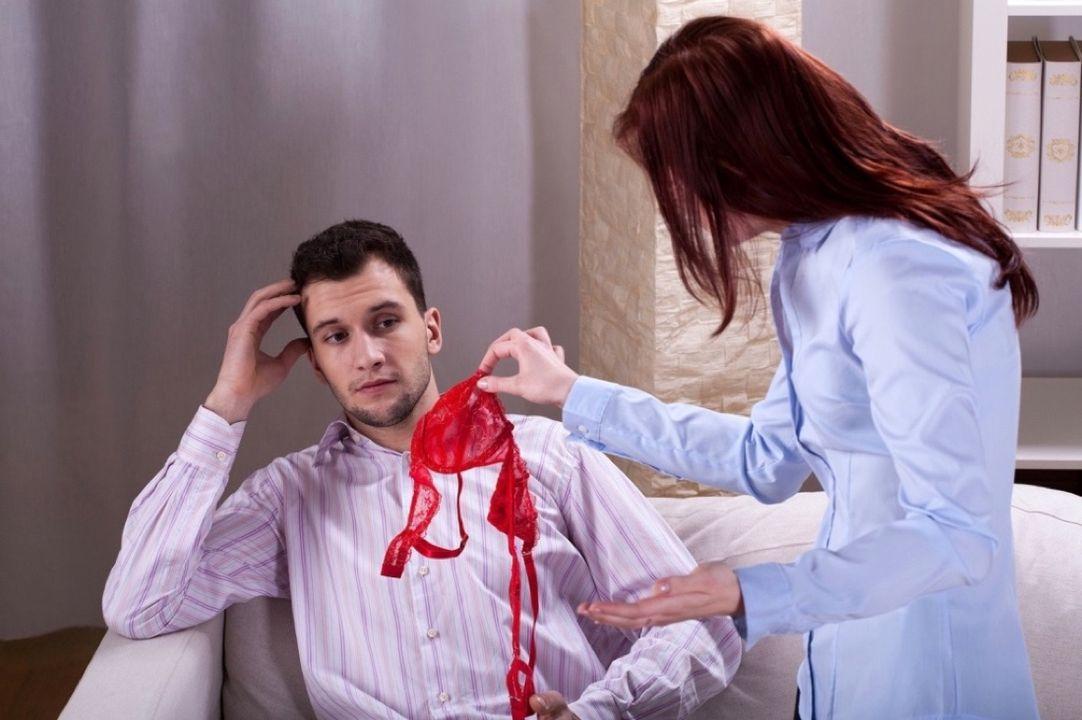ссора с женой после измены